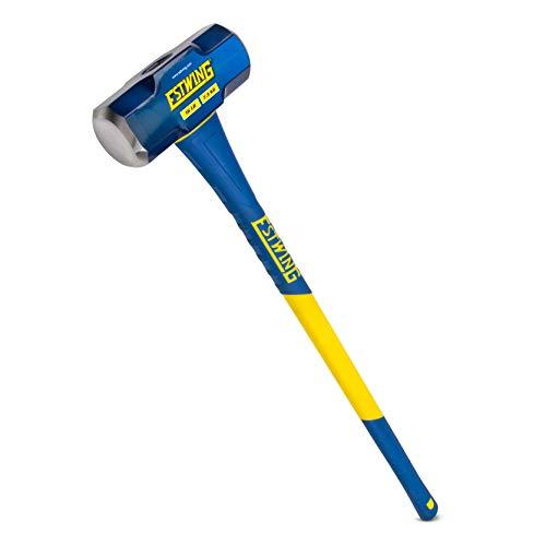 Estwing 16-Pound Hard Face Sledge Hammer 36-Inch Fiberglass Handle ESH-1636F
