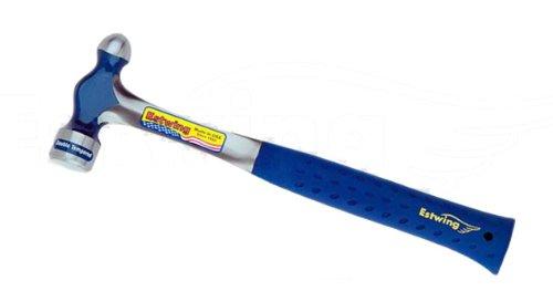 Estwing E3-8BP Ballpeen Hammer Nylon Vinyl Shock Reduction Grip 8-Ounce