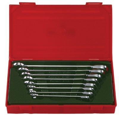 7 Pc Jumbo Reversible Ratcheting Wrench Sets - 7 piece large reversingratchet wrench set sae