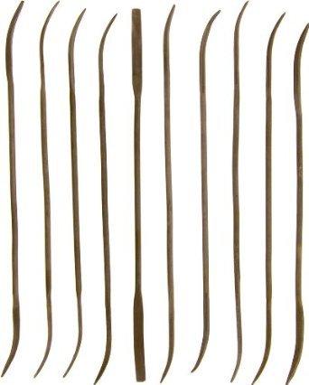 10-pieces 18 by 5-12 Riffler File Set 17-RF10C-1