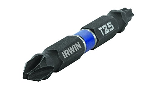 IRWIN Tools 1892014 Impact Performance Series Double-Ended Screwdriver Power Bit with 2 38-Length 2-Pack