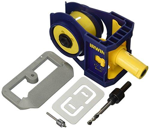 IRWIN Tools Bi-Metal Door Lock Installation Kit 3111002
