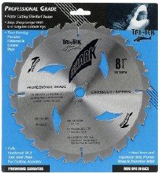 Shark Pro-series 8 14 inch 24 Teeth Carbide 58 arbor hole DKO Thin Kerf ATB Table Saw Blade Ship FREE buy 25
