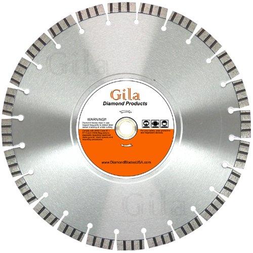 GilaTools 20 Pro-Cut Turbo Segmented Walk Behind Concrete Saw Blade