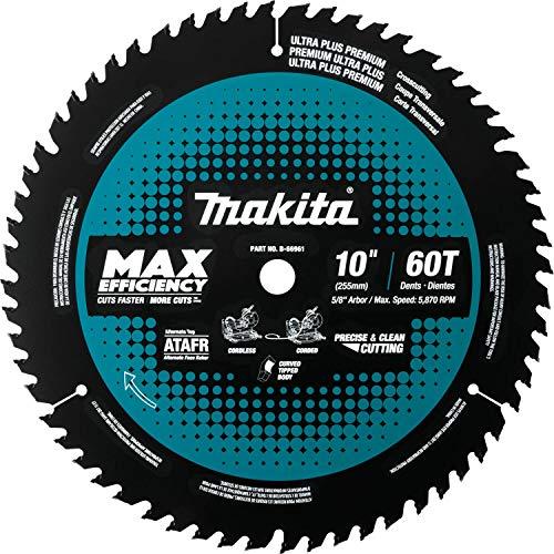 Makita B-66961 10 60T Carbide-Tipped Max Efficiency Miter Saw Blade