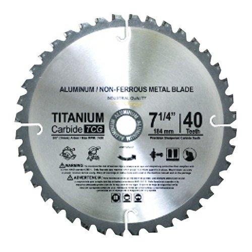 TCT saw Blade for Fiberglass PVC Aluminium C4 4-38 Diameter 40 Tooth