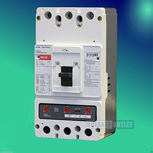 New Cutler-Hammer Eaton HKD3400 Circuit Breaker 3 Pole 400A 600V HKD 65kA