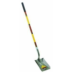 Seymour S701 48-Inch Fiberglass Long Handle Structron Square Point Shovel
