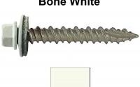 Metal-ROOFING-SCREWS-1000-Screws-x-1-1-2-BONE-WHITE-Hex-Washer-Head-Sheet-Metal-Roof-Screw-Self-starting-self-tapping-metal-to-wood-sheet-metal-roofing-siding-screws-EPDM-washer-Metal-Roof-screw-with-colored-head-For-corrugated-roofing-32.jpg